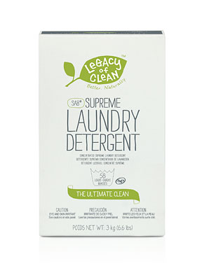 Legacy Of Clean Sa8 Supreme Laundry Detergent Powder
